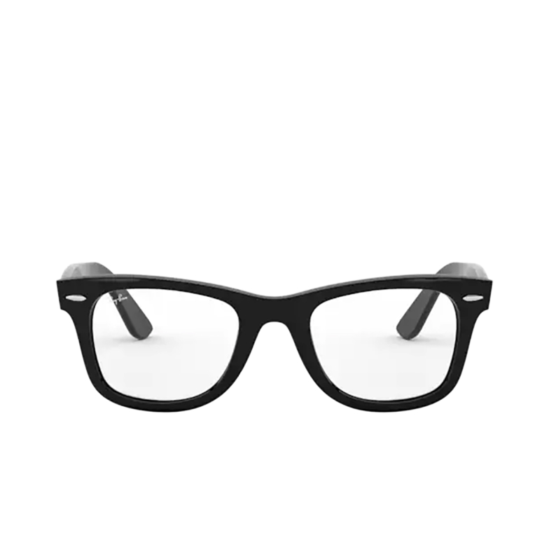 Ray-Ban® Square Eyeglasses: Wayfarer Ease RX4340V color Black 2000.