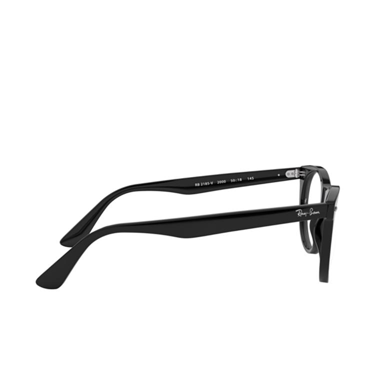 Ray-Ban® Square Eyeglasses: Wayfarer Ii RX2185V color Black 2000.