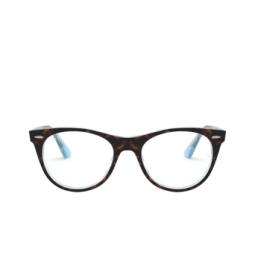 Ray-Ban® Eyeglasses: Wayfarer Ii RX2185V color Top Havana On Light Blue 5883.