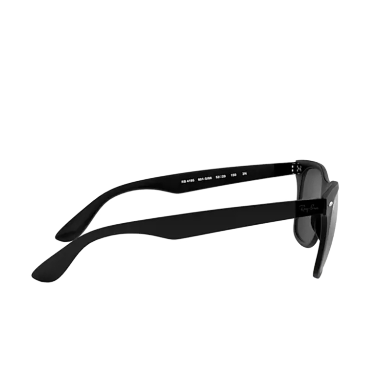 Ray-Ban® Square Sunglasses: Wayfarer Liteforce RB4195 color Matte Black 601S88.