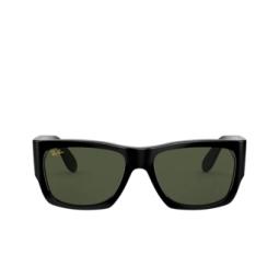 Ray-Ban® Sunglasses: Wayfarer Nomad RB2187 color Shiny Black 901/31.