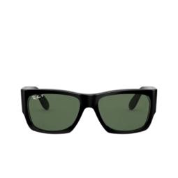 Ray-Ban® Sunglasses: Wayfarer Nomad RB2187 color Black 901/58.