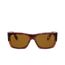 Ray-Ban® Sunglasses: Wayfarer Nomad RB2187 color Striped Havana 954/33.