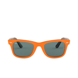 Ray-Ban® Square Sunglasses: Wayfarer RB2140 color Orange 1242/52.