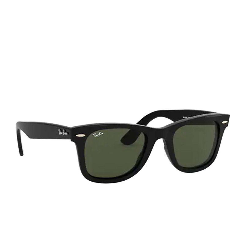 Ray-Ban® Square Sunglasses: Wayfarer RB4340 color Black 601.
