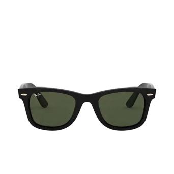 Ray-Ban® Square Sunglasses: Wayfarer RB4340 color Black 601.