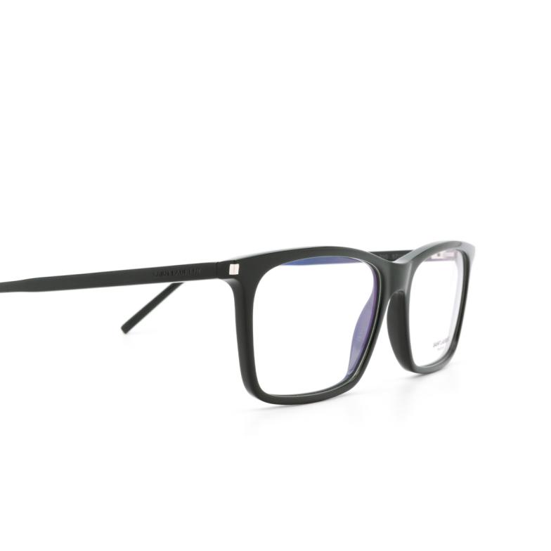 Saint Laurent® Rectangle Eyeglasses: SL 296 color Green 010.