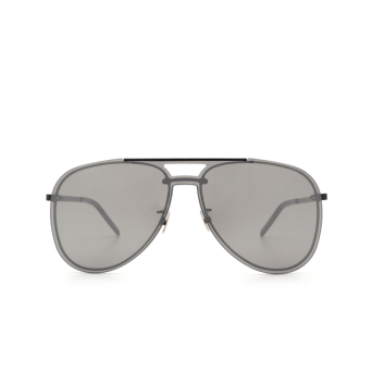 Saint Laurent® Aviator Sunglasses: CLASSIC 11 MASK color Black 003.