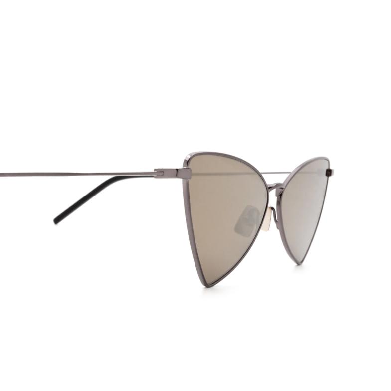 Saint Laurent® Irregular Sunglasses: Jerry SL 303 color Ruthenium 008.