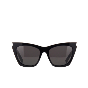 Saint Laurent® Cat-eye Sunglasses: Kate SL 214 color 001.
