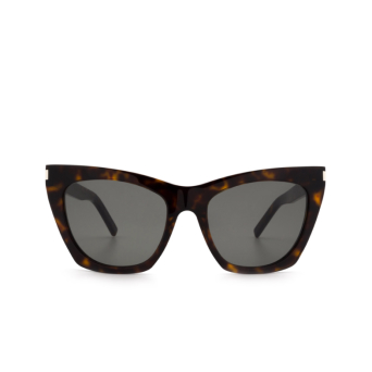Saint Laurent® Cat-eye Sunglasses: Kate SL 214 color Havana 006.