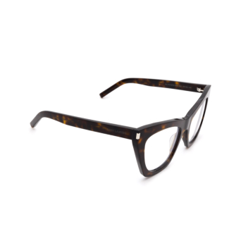 Saint Laurent® Cat-eye Eyeglasses: Kate SL 214 OPT color Havana 002.