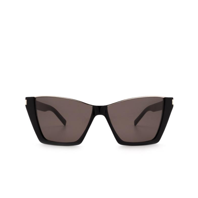 Saint Laurent® Square Sunglasses: Kate SL 369 color Black 001.