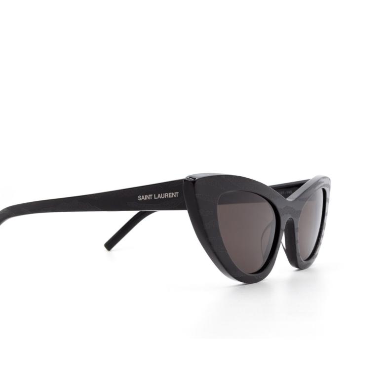 Saint Laurent® Cat-eye Sunglasses: Lily SL 213 color Black 011.