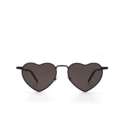 Saint Laurent® Sunglasses: Loulou SL 301 color Black 002.