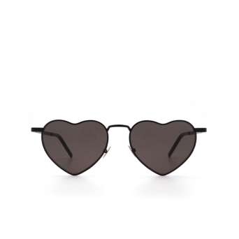 Saint Laurent® Irregular Sunglasses: Loulou SL 301 color Black 002.