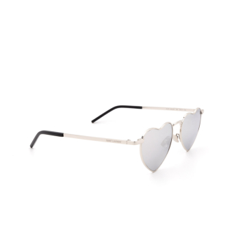 Saint Laurent® Irregular Sunglasses: Loulou SL 301 color Silver 003.