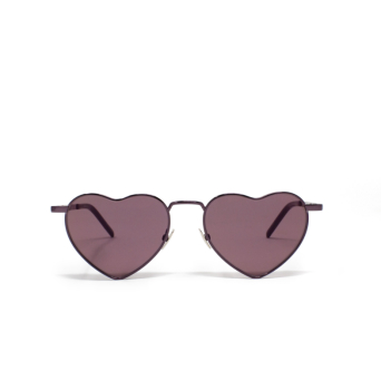 Saint Laurent® Irregular Sunglasses: Loulou SL 301 color Pink 007.