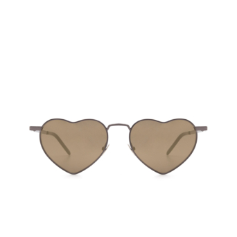 Saint Laurent® Irregular Sunglasses: Loulou SL 301 color Ruthenium 008.