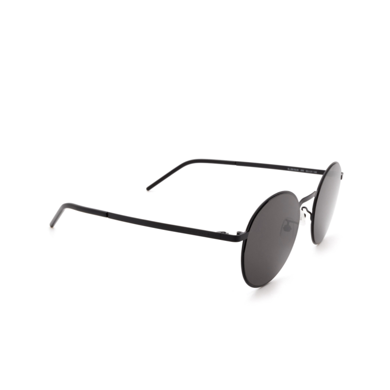 Saint Laurent® Round Sunglasses: SL 250 SLIM color Black 005.