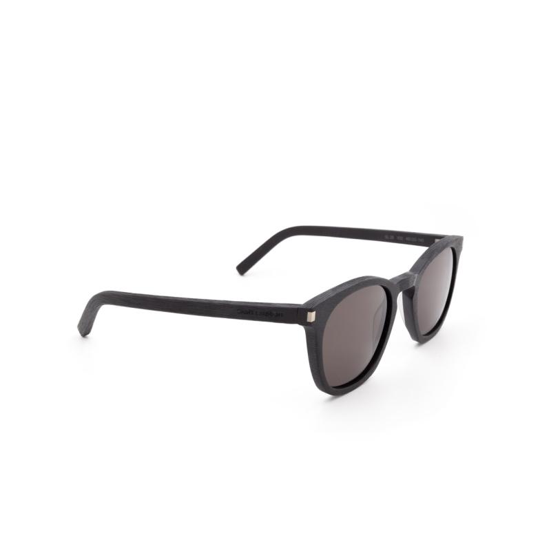 Saint Laurent® Square Sunglasses: SL 28 color Black 032.