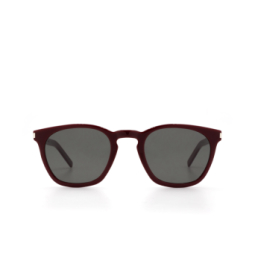 Saint Laurent® Sunglasses: SL 28 SLIM color Burgundy 004.