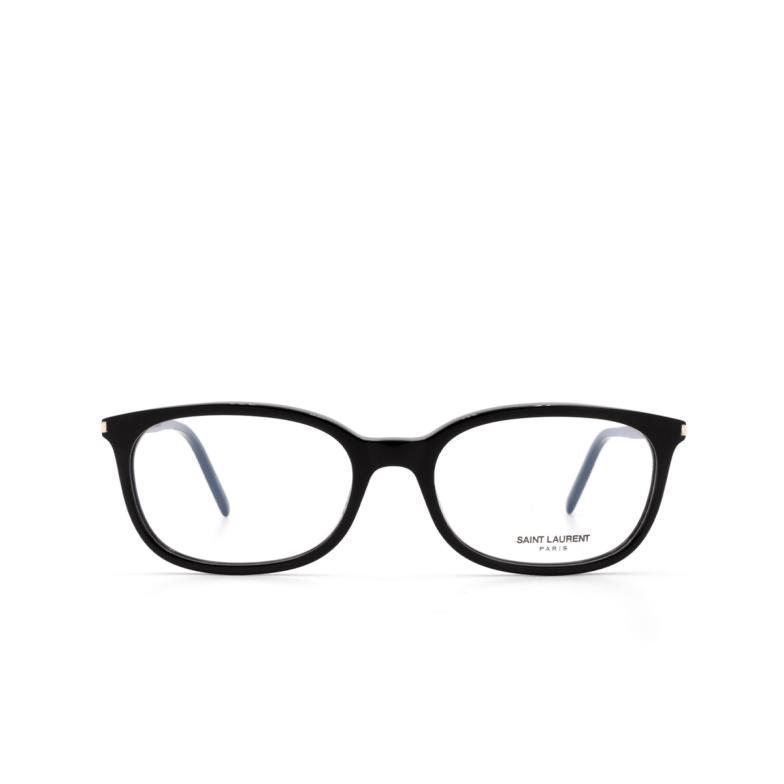 Saint Laurent® Rectangle Eyeglasses: SL 297 color Black 005.