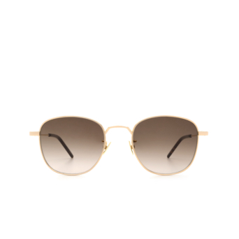 Saint Laurent® Square Sunglasses: SL 299 color Gold 008.