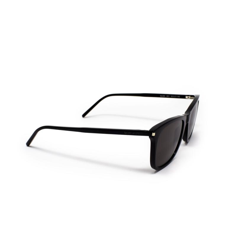 Saint Laurent® Square Sunglasses: SL 304 color Black 001.