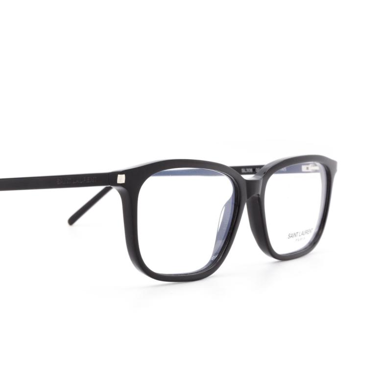 Saint Laurent® Rectangle Eyeglasses: SL 308 color 001.