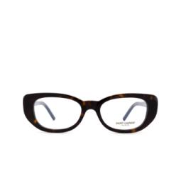 Saint Laurent® Eyeglasses: SL 316 BETTY OPT color Havana 002.