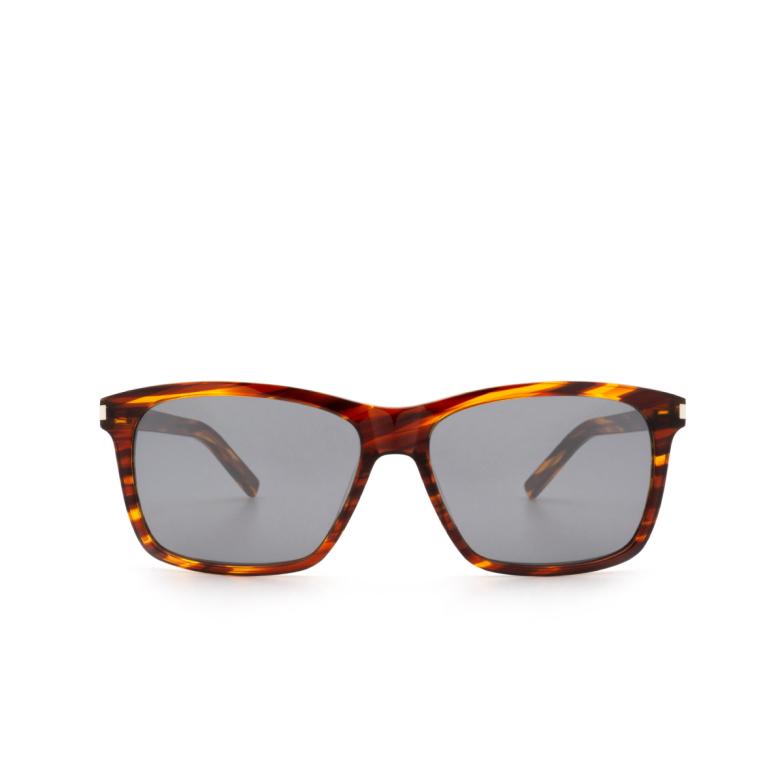 Saint Laurent® Square Sunglasses: SL 339 color Havana 004.