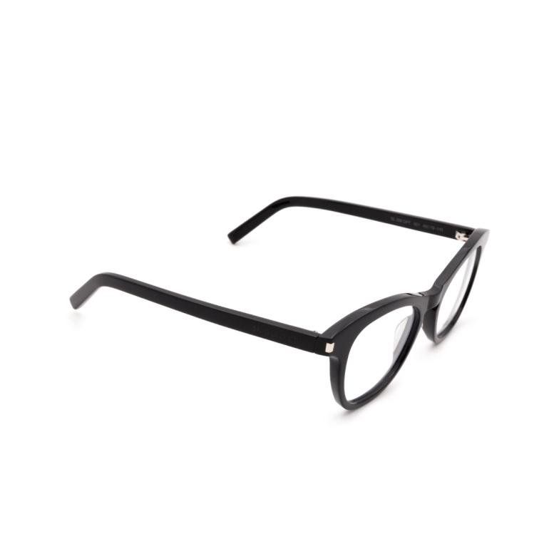 Saint Laurent® Square Eyeglasses: SL 356 OPT color Black 001.