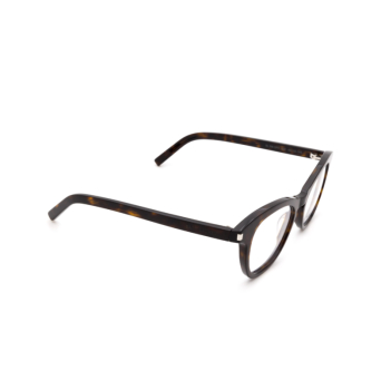 Saint Laurent® Square Eyeglasses: SL 356 OPT color Havana 002.