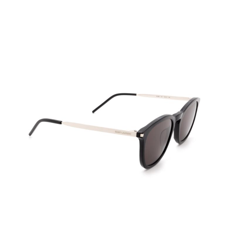 Saint Laurent® Square Sunglasses: SL 360 color Black 001.