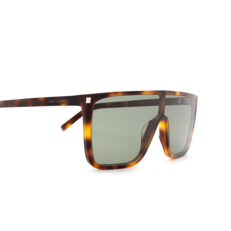 Saint Laurent® Mask Sunglasses: SL 364 MASK ACE color Havana 002.