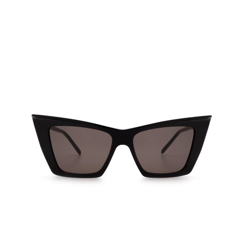 Saint Laurent® Cat-eye Sunglasses: SL 372 color Black 001.