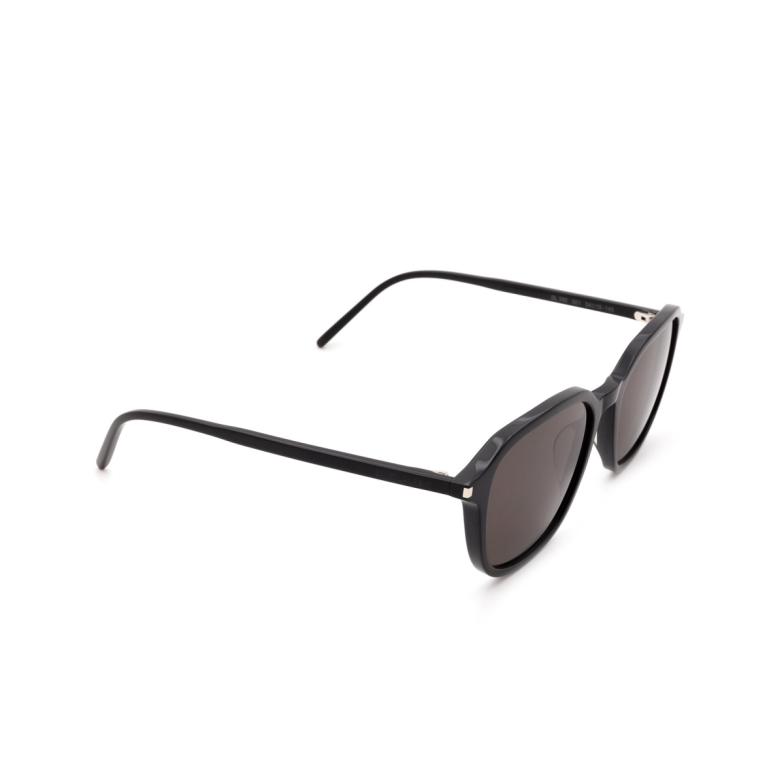 Saint Laurent® Square Sunglasses: SL 385 color Black 001.