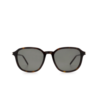 Saint Laurent® Square Sunglasses: SL 385 color Havana 002.