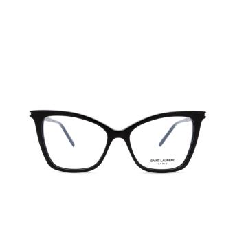 Saint Laurent® Cat-eye Eyeglasses: SL 386 color Black 005.