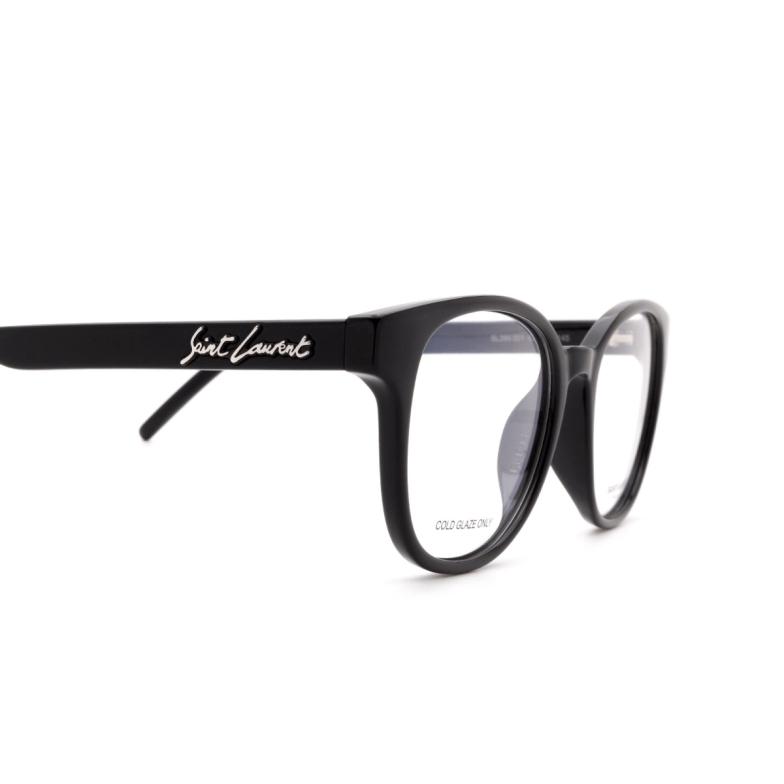 Saint Laurent® Square Eyeglasses: SL 399 color Black 001.