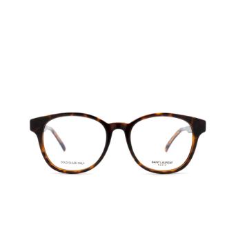 Saint Laurent® Square Eyeglasses: SL 399 color Havana 002.