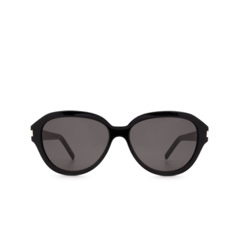 Saint Laurent® Butterfly Sunglasses: SL 400 color Black 001.