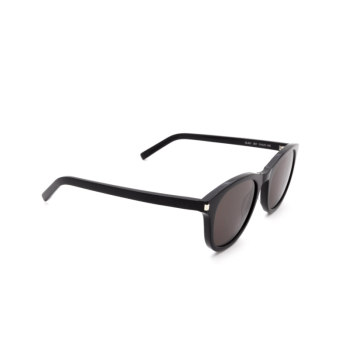 Saint Laurent® Round Sunglasses: SL 401 color Black 001.