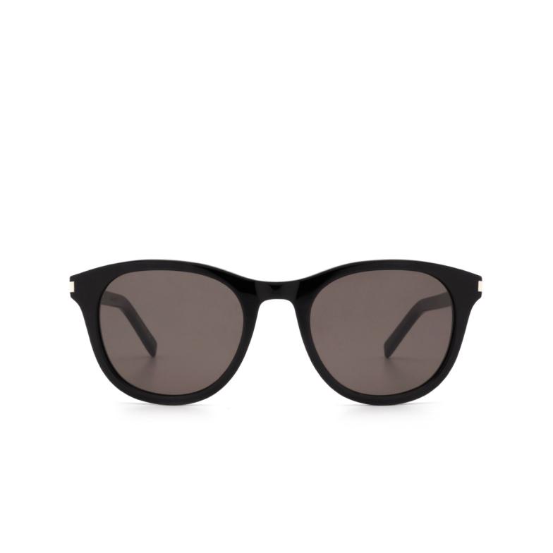 Saint Laurent® Round Sunglasses: SL 401 color Black 001.