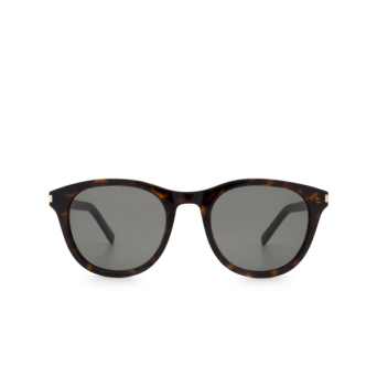 Saint Laurent® Round Sunglasses: SL 401 color Havana 002.
