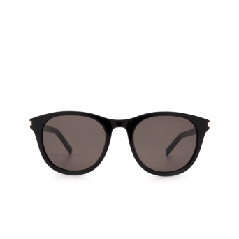 Saint Laurent® Round Sunglasses: SL 401 color Black 005.