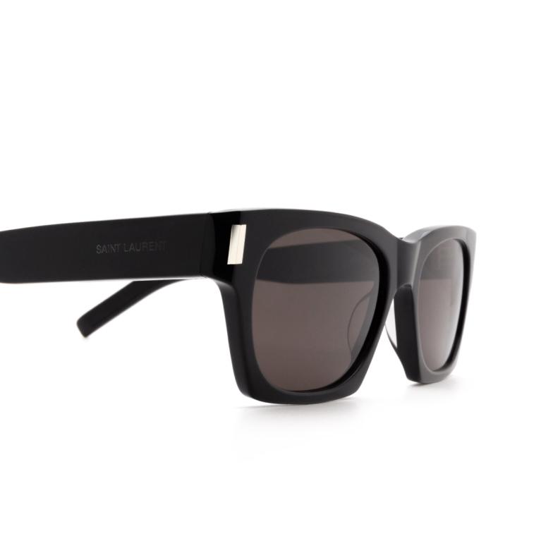 Saint Laurent® Rectangle Sunglasses: SL 402 color Black 001.