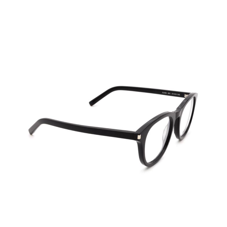 Saint Laurent® Round Eyeglasses: SL 403 color Black 001.