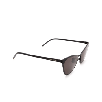 Saint Laurent® Cat-eye Sunglasses: SL 409 color Black 002.